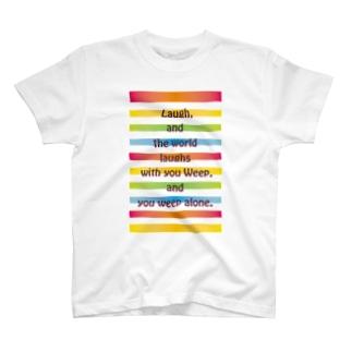 虹に T-shirts
