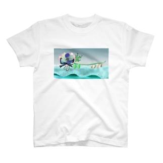 歩きだしたanemone T-shirts