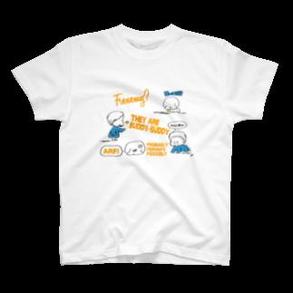 egu shopのfriend T-shirts