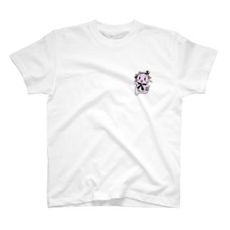 お菓子の妖精ルーチェ ワンポイント T-shirts