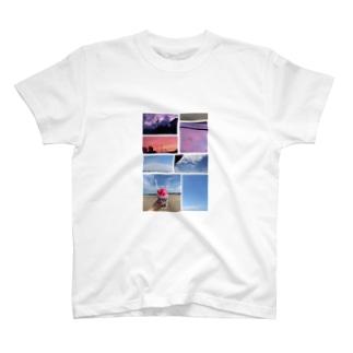 空の詰め合わせ T-shirts