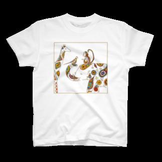 Aki Miyoshiのどうぶつ T-shirts