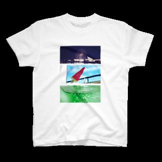 selfishの丸三角四角 T-shirts