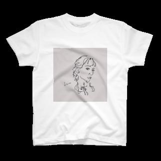 ____m.styleのアンニュイgirl T-shirts