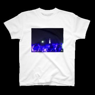 kyouaku_drmのぼくと冬の夜 T-shirts