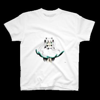 抹茶オレのほわいと T-shirts