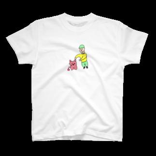 たのしマーケットのぼくとねことうんち2 T-shirts