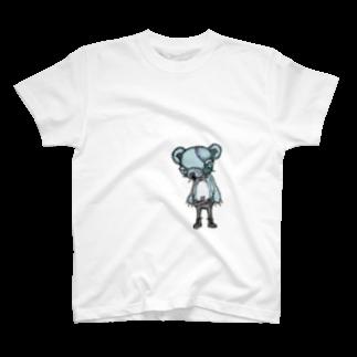 【NUllUN】のkuma-punk T-shirts