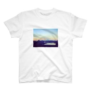 帰路、滲む景色。 T-shirts