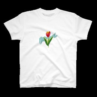 YAMADAのちゅうりっぷ T-shirts