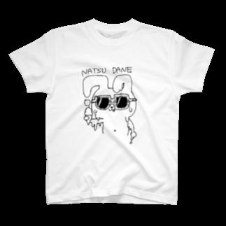 morterのNATSUDANE T-shirts