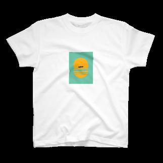 nanahushiのasphalt T-shirts