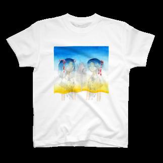 sironの夏のグラデーション T-shirts