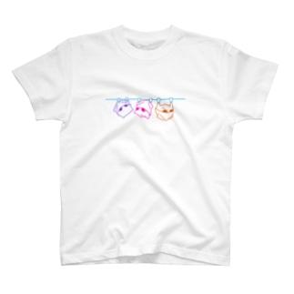 ビビッド吊るされゲッ太T T-shirts