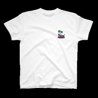 uwotomoのバックプリント象に乗った強盗【THAILAND】 T-shirts
