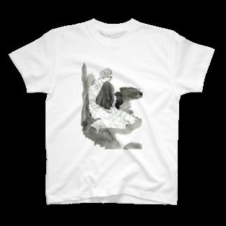 Yuasa Kei/遊佐慧のスヤリ T-shirts