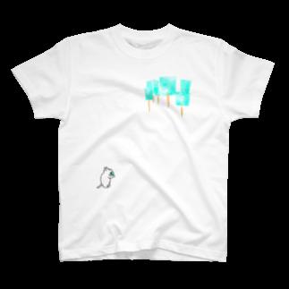 石川ともこのアイスの森 T-shirts