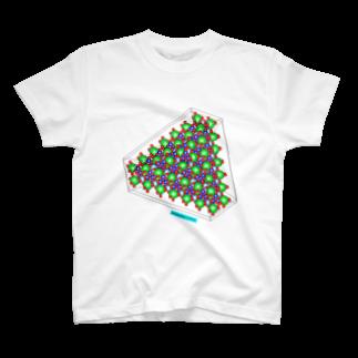 結晶ふりいくのベニト石 Written by VESTA3 T-shirts