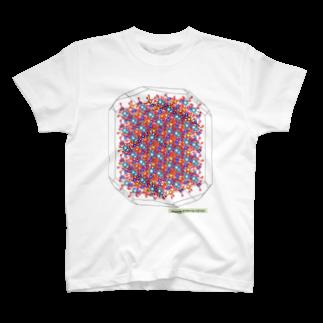 結晶ふりいくの透輝石 Written by VESTA3 T-shirts