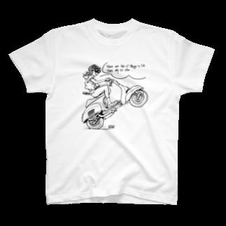 Toho-TのON Vespa! T-shirts