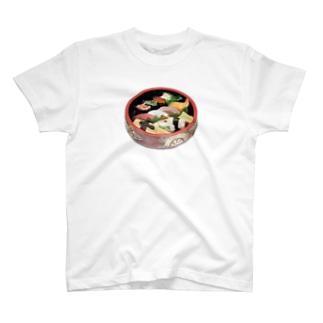 お寿司 盛り合わせ T-shirts