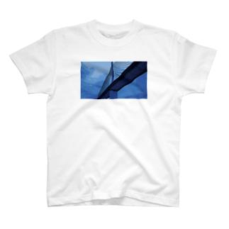 Bridge blue T-shirts