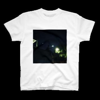 ch0mmmのお月さま T-shirts