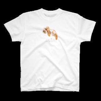 ヒラノマキコの2017.08月うさぎ T-shirts