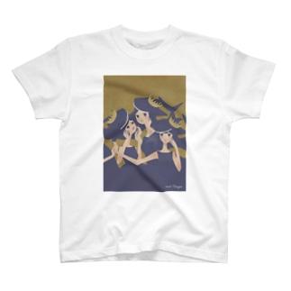 おサメ姫の森〜3sharks T-shirts