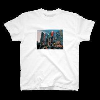 _watana_becky_のshinjuku T-shirts
