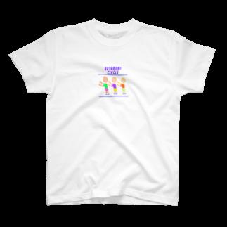 marippaの肩もみサークル T-shirts