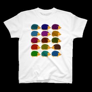 ふるかのラクガキLv.1のハリネズミ T-shirts