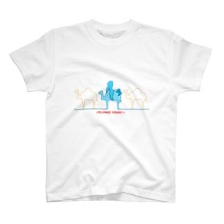 ラクダクンたち T-shirts