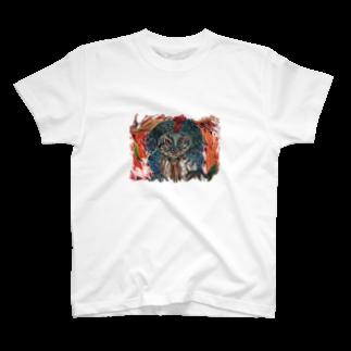 色鉛筆 Life Timeのヘルリザード T-shirts
