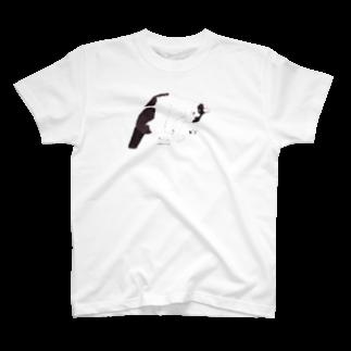 ヒラノマキコの2017.01月ねこ T-shirts