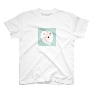 パールホワイト2 T-shirts