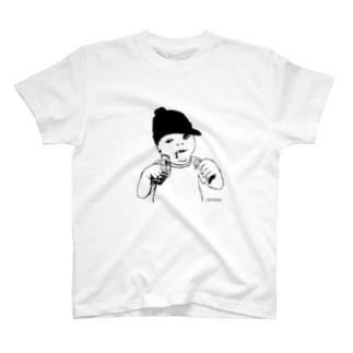 Baby bomb 全面 T-shirts