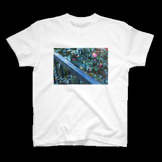 mitsukoの花Tシャツ T-shirts