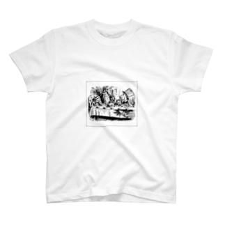 兎の晩餐 T-shirts