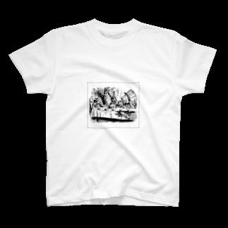 inoiの兎の晩餐 T-shirts