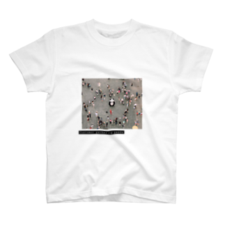 kurage818のCustomer gathering panda T-shirts