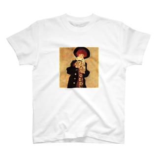 エゴン・シーレ / 1909 / Woman with Black Hat / Egon Schiele T-shirts