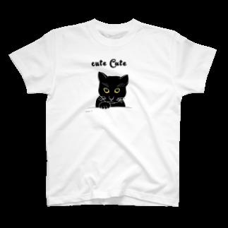 ゴータ・ワイの女猫 T-shirts