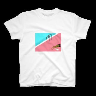 aimingo-12345_comのねっちゅうしょう T-shirts