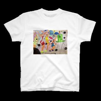 バードストライク和田のジュリアナと13の宇宙 T-shirts