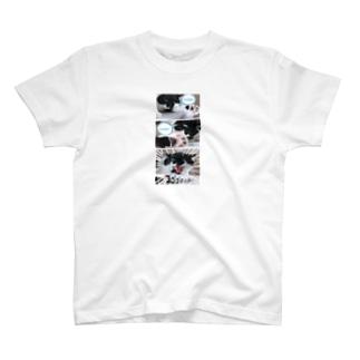No.19 肉球の自慢をするバットにゃん♪ T-shirts