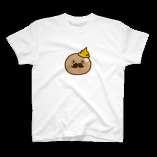 黄金蟲教の玉こん男爵 T-shirts