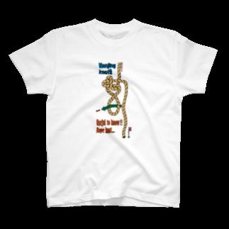 wood3westのNanjing knot!! T-shirts