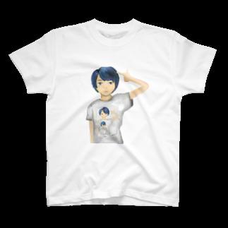 annzusa_sameの無限ループ T-shirts