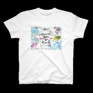 kaaaarisu0406のうみのなつやすみ T-shirts